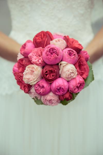 Lily Deluxe Blumen Brautstrauss